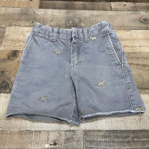 Crewcuts Boys Chinos Shorts Size 5 Gray